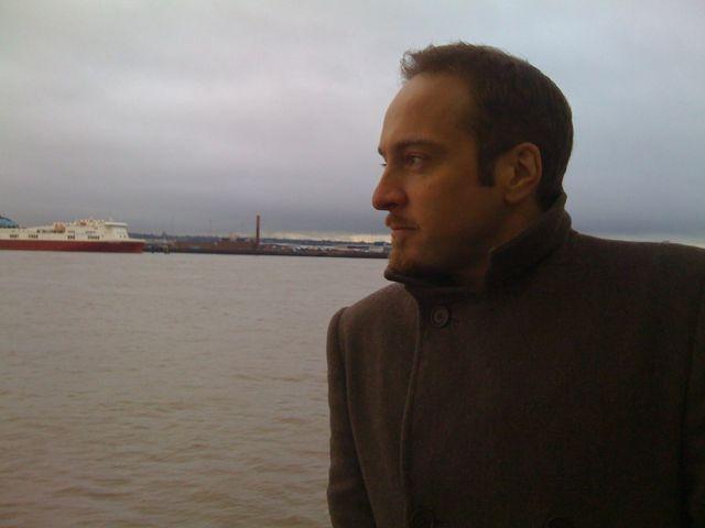 Derren Brown on the Mersey Ferry