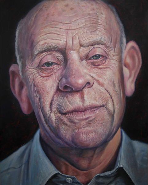 'Father' acrylic on canvas 2011