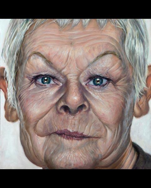 'Grande Dame' acrylic on canvas 2010
