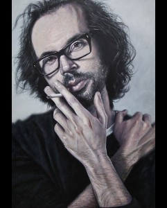 'James Rhodes' acrylic on canvas 2011 1