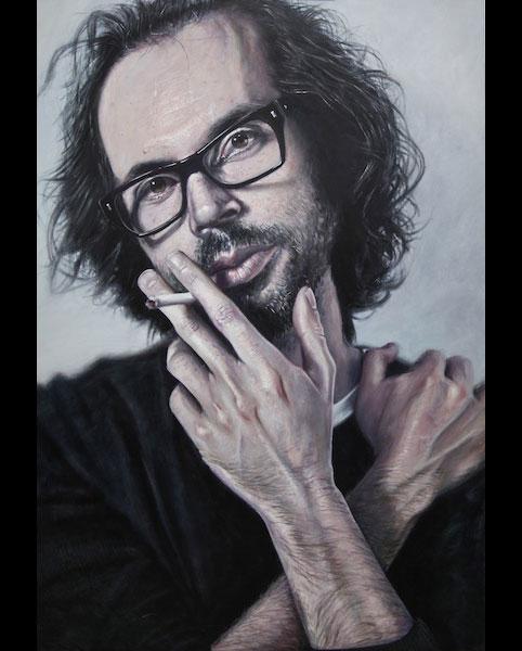'James Rhodes' acrylic on canvas 2011 1