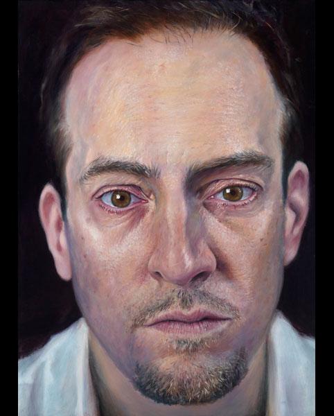 'Self' acrylic on canvas 2011 1