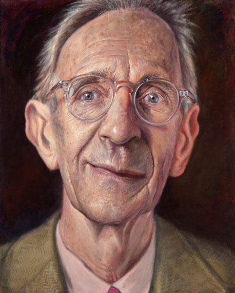 'Patrick Hughes' acrylic on canvas 2011