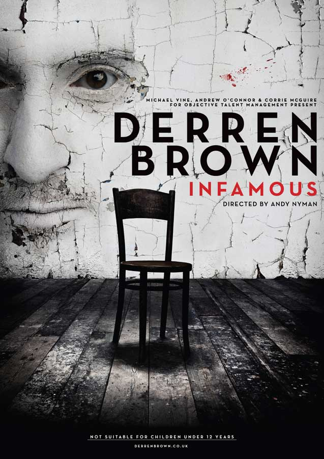 Poster for Derren Brown: INFAMOUS