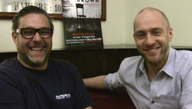 Andy Nyman and Derren Brown talk about Infamous