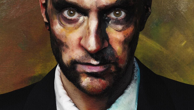 Exclusive picture from Derren Brown: The Great Art Robbery