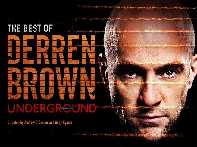 Derren Brown: Underground –tour poster image
