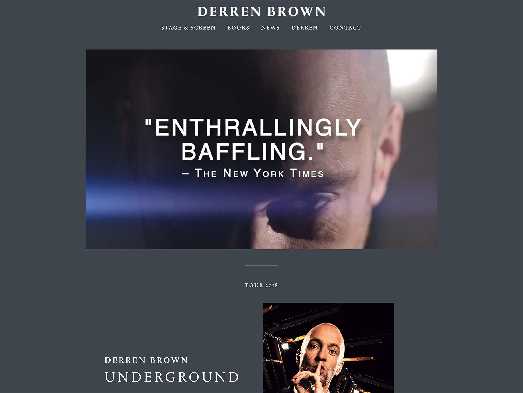 Derren brown experiments online dating