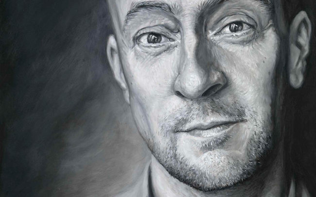 Derren Brown self-portrait 2018