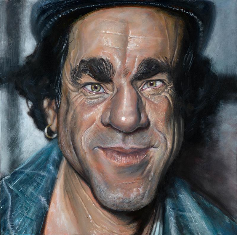 Daniel Day-Lewis portrait by Derren Brown