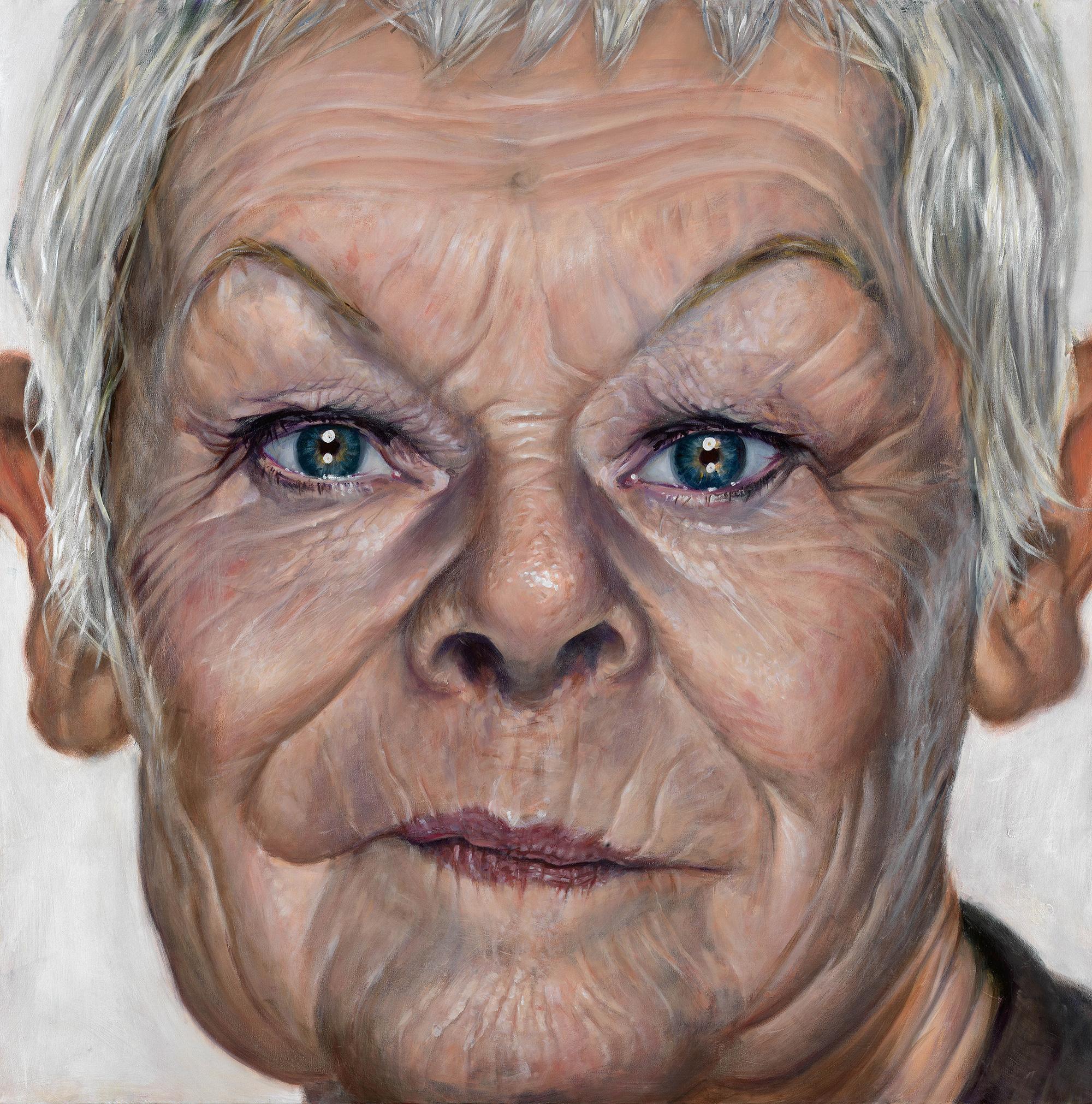 'Grand Dame' – portrait of Judi Dench by Derren Brown