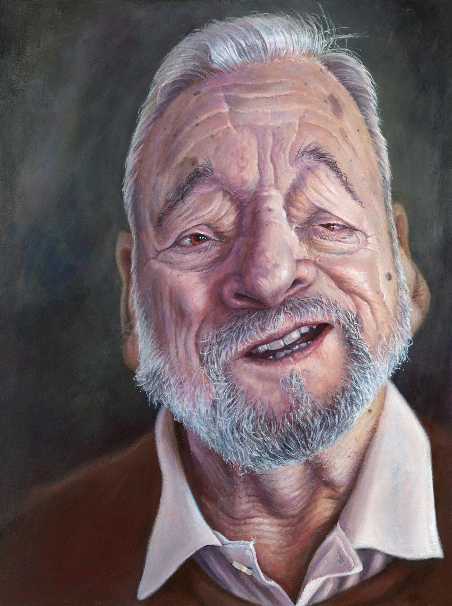 Stephen Sondheim portrait by Derren Brown