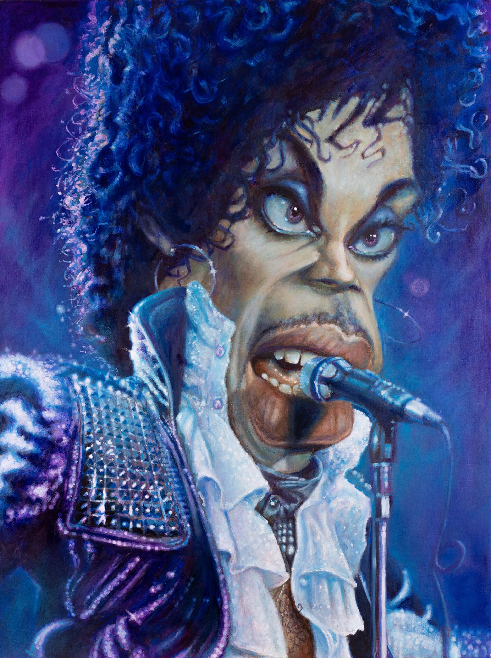 Prince portrait by Derren Brown