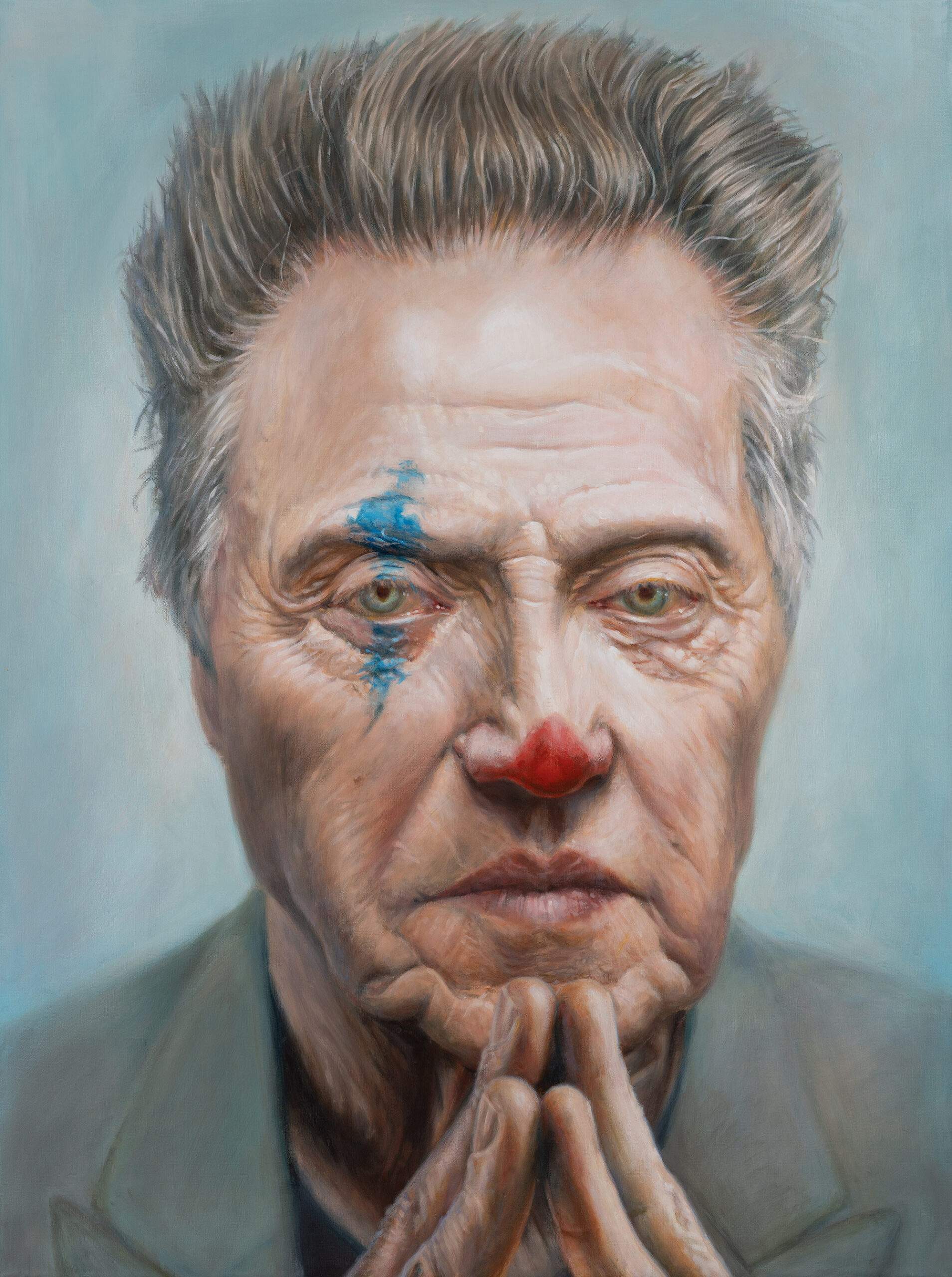 Christopher Walken portrait by Derren Brown
