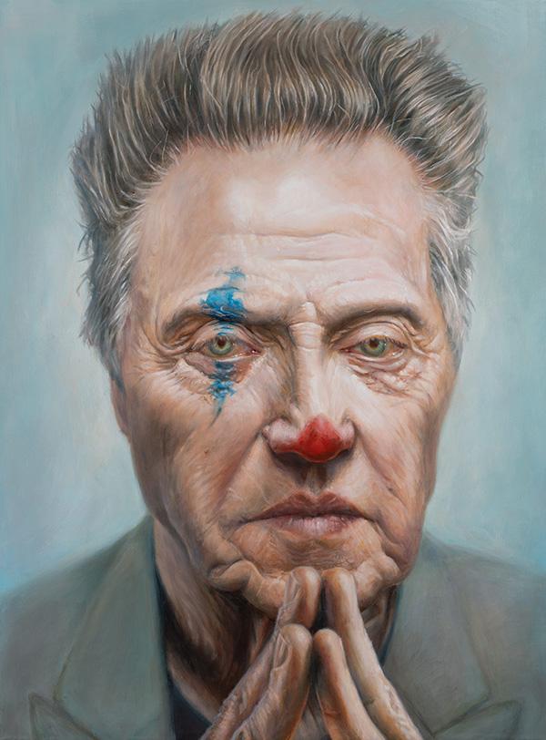 Christopher Walken portrait by Derren Brown